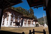 Kurje Lhakhang, Bumthang, Bhutan, Asia.