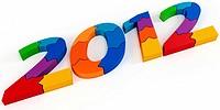 3d Happy New Year 2012