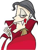 cartoon vampire