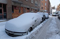 Winter, Stockholm