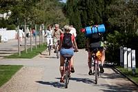 Promenade, Bansin, Usedom, Mecklenburg-Western Pomerania, Germany, Europe