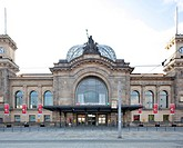 Main railway station, Dresden, Saxony, Germany, Europe, PublicGround