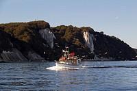 Fischerboot am Königsstuhl