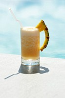 Poolside cocktail