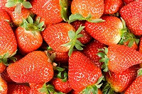 Detail of strawberries