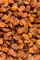 Detail of raisins