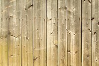 Detail of a wooden wall