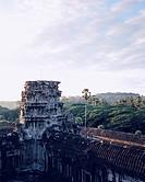 Stone Temple in Angkor, Cambodia