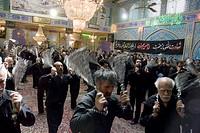 Muharram participants, Isfahan, Iran