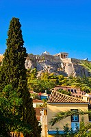Acropolis at Athens, Greece