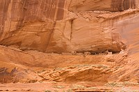 USA, Arizona, Chinle, Canyon De Chelly National Monument, Ledge Ruin Anasazi Indians