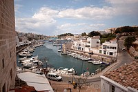 Port of Ciutadella, Menorca, Spain