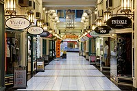 Interiors of a shopping center, Strand Arcade, Central Business District, Auckland, North Island, New Zealand