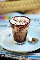 Cappuccino al cioccolato cappuccino with chocolate, Italy