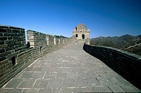 Fortified wall, Great Wall Of China, Badaling, China