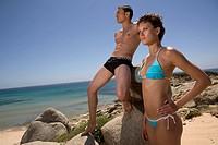 Man and Woman at Beach