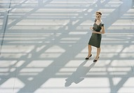 Businesswoman Standing in an Open Room