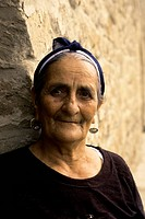 Azerbaijan, Near Baku, Atashgah Temple Zoroastrian Temple, Portrait Of Woman