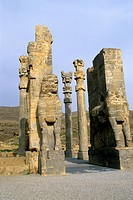 Iran, Near Shiraz, Persepolis, The Gate Of All Nations