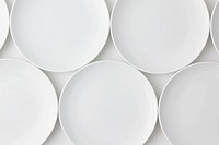 Arrangement Of Empty Plates