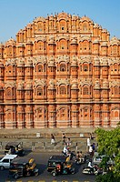 Hawa Mahal Palace of Winds  Jaipur  Rajasthan, India