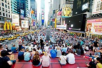 Times square, Manhattan, New York City  USA.