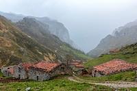 Invernales del Texu near Sotres, Picos de Europa National Park, Asturias, Spain