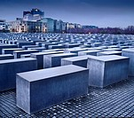 Holocaust Memorial, Berlin, Germany  Designed by Peter Eisenmann