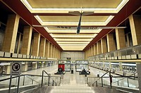 the main hall of Berlin-Tempelhof Airport  Tempelhof-Schöneberg district  germany  europe