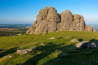 Haytor Rocks, Dartmoor National Park, Devon, England