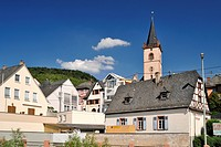 Lorch, Upper Middle Rhine Valley, a UNESCO World Heritage Site, Hesse, Germany, Europe