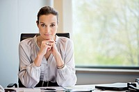 Portrait of a businesswoman in an office (thumbnail)
