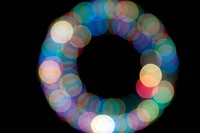 Defocused light
