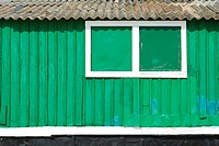 beautiful and traditional fisherman house in the portuguese coast detail