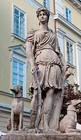 Statue Diana of Versailles