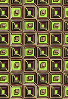 Repeating square design