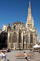 Cathedrale St  Andre, Bordeaux, Gironde, France, Europe