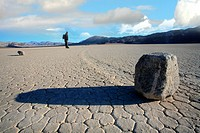 Death Valley, Moving Rocks, California, USA
