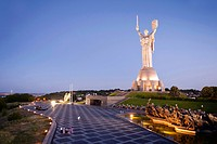 Motherland Statue Rodina Mat, Kiev, Ukraine, Europe