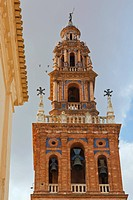 Tower of church of san pedro, carmona seville province spain