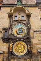 Old Town Hall Astronomical Clock, Prague Czech Republic