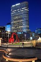 France, Paris, La Défense, business district, modern architecture,