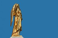 Golden statue of Angel