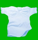 Shirt in chroma green screen