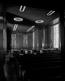 St. Paul City Hall_Ramsey County Courthouse in St. Paul Minn., 1933. , Interior, courtroom negative , Includes exterior and interior views of the St. ...