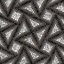 Seamless texture of grey 3d stones covered with dust