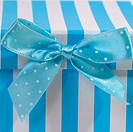 gift box with bow for babies