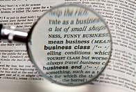 Magnifying Business Class