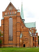 The Doberaner Cathedral and Münster, dedicated in 1368, is one of the most impressive examples of North German brick architecture  It was originally t...