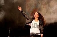 Rock'n'Roll Arena in Jena Für eine bunte Republik Deutschland _ Konzert Rock gegen Rechts _ Ein Zeichen gegen Rechtsextremismus und Fremdenfeindlichke...